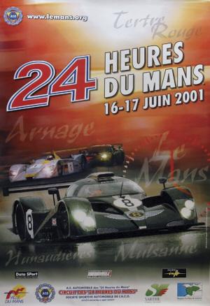 Poster Le Mans 2001