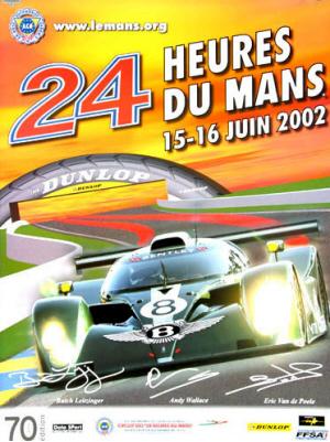 Poster Le Mans 2002