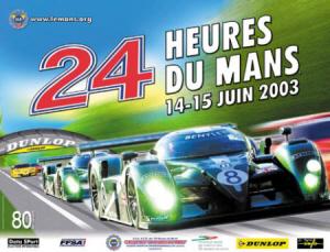 Poster Le Mans 2003