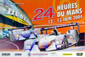 Poster Le Mans 2004