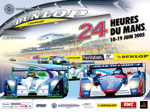 Poster Le Mans 2005