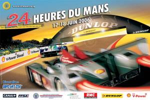 Poster Le Mans 2006