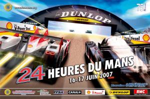 Poster Le Mans 2007
