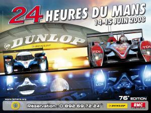 Poster Le Mans 2008