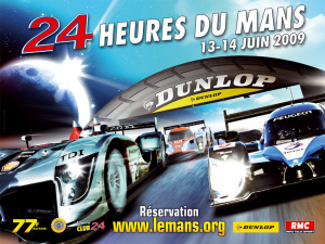 Poster Le Mans 2009