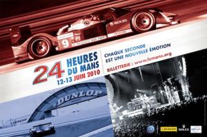 Poster Le Mans 2010