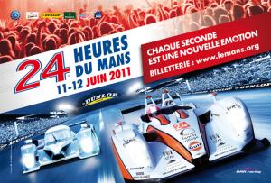 Poster Le Mans 2011