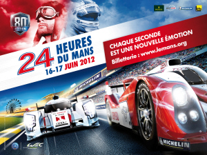 Poster Le Mans 2012