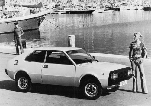 Seat 1430 Sport. Imagen promocional. SEAT