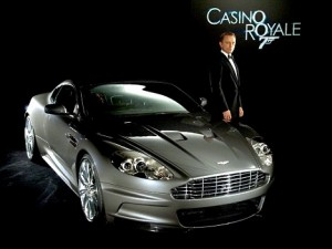 Aston Martin DBS. Daniel Craig. Casino Royale