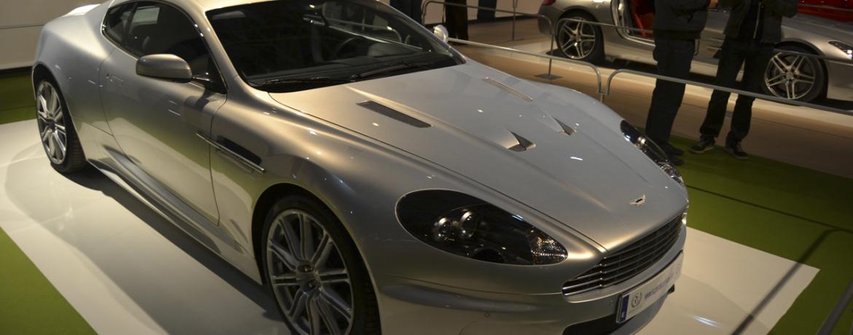 Aston Martin DBS. Foto: Jose Ángel García Cerezo. Exposición Supercoches IFEMA Diciembre 2011