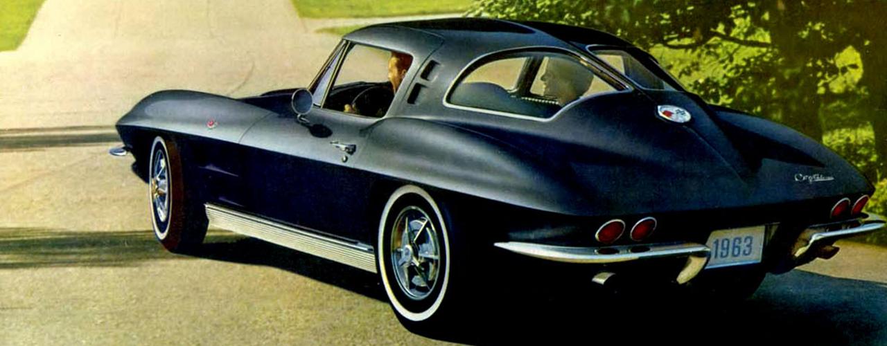 Chevrolet Corvette C2, 1963 Brochure