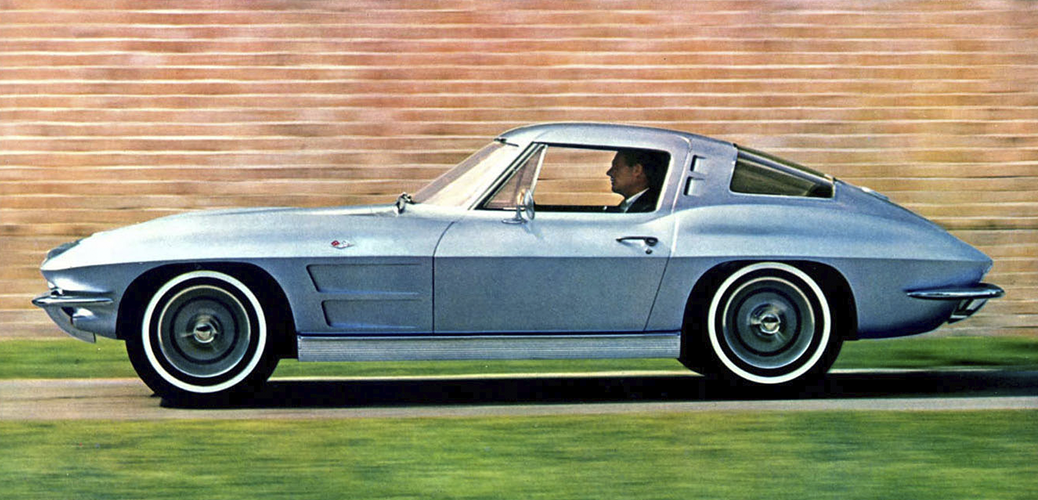 Foto: Catálogo del Chevrolet Corvette C2 de 1963. ChevroletF