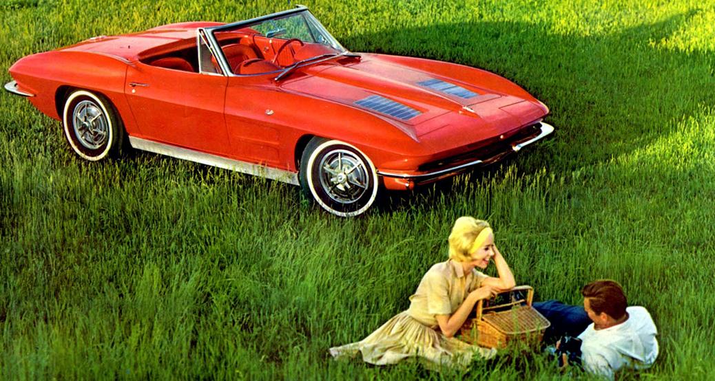 Foto: Catálogo del Chevrolet Corvette C2 de 1963. Chevrolet