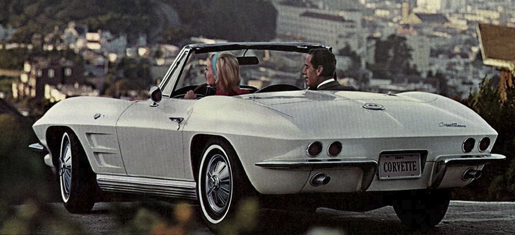 Foto: Catálogo del Chevrolet Corvette C2 de 1964. Chevrolet