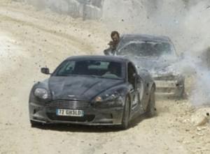 Aston Martin DBS. Fotograma de Quantum of Solace
