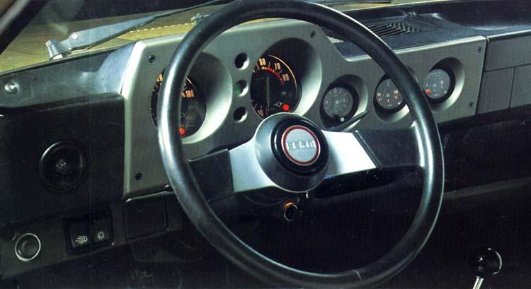 SEAT SEAT 1200 Sport. Interior. SEAT