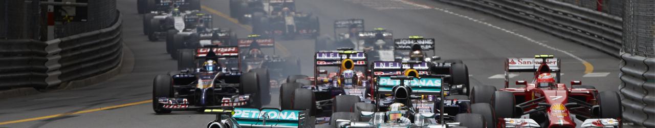 Salida Gran Premio de Mónaco 2014, Foto: Mercedes