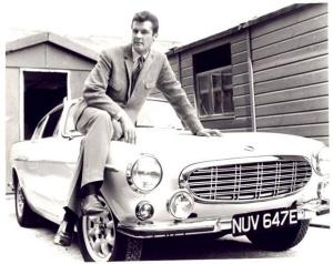 """Volvo P1800. Roger Moore """"El Santo"""""""
