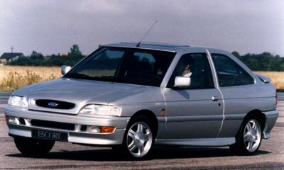 Foto: RS 2000 posterior al restyling de 1992