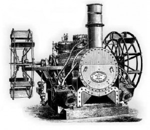 Motor de barco Vauxhall