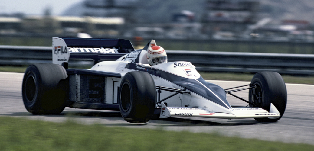 Brabham-BMW BT52, Nelson Piquet en el Gran Premio de Brasil de 1983 con el Brabham BMW BT 52. Foto: ©BMW Group