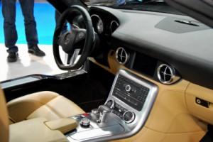 Mercedes-Benz SLS AMG Coupé. Foto: Manu Ávila. 1 de Noviembre de 2010. III Salón del Automóvil de A Coruña