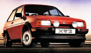 Ford Fiesta Mk2 XR2. Foto: Publicidad Ford de la época