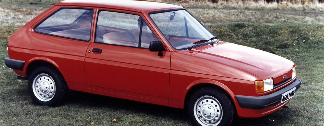 Ford Fiesta Mk2, 1983. Ford 30º Aniversario Factoria Almussafes