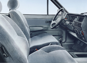 Interior. Ford Fiesta Mk2. Foto: Ford