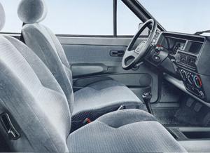 Interior del coche, foto de catálogo
