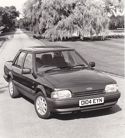 Ford Orion Ghia Injection. Foto Ford Motor Company