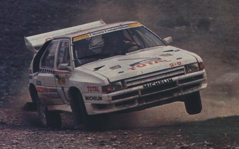 Citroën BX 4TC. Rallye Acrópolis. Philippe Wambergue. Origen desconocido.