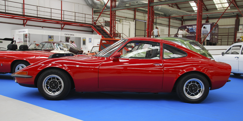 Opel GT. Foto:Manu Avila 2011. IV Salón Internacional de Vehículos y Motocicletas de época. FIMO. Ferrol