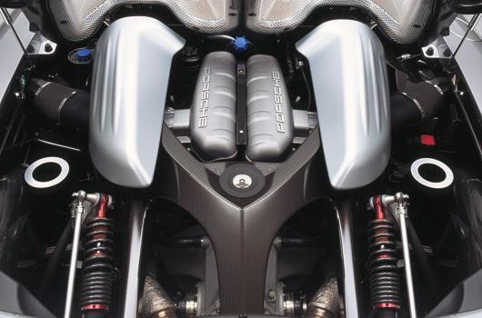 Porsche Carrera GT. Motor. Foto: Porsche