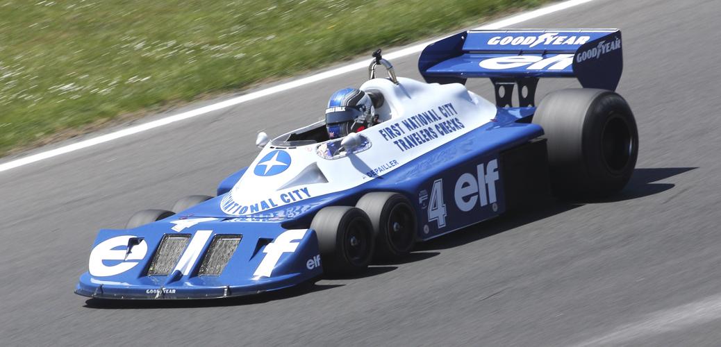 Tyrrell P34B Brands Hatch Masters 2012. Foto: Todos los derechos reservados por Rusell Witworth