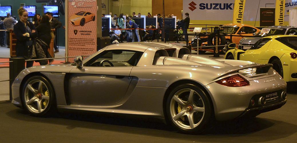 Porsche Carrera GT. Foto: Aaron Castellano - Madrid Motor Days, Diciembre de 2013