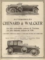 La Historia de Chenard & Walcker