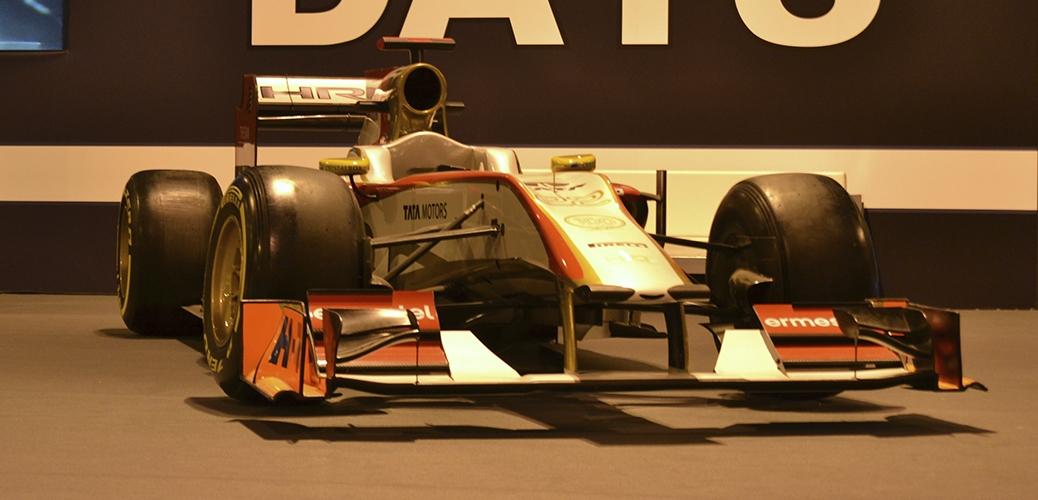 HRT-Cosworth F112. Foto: Aaron Castellano - Madrid Motor Days, Diciembre de 2013
