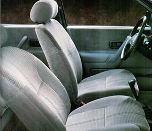 Ford Orion Mk2. Interior. Foto de Catálogo.