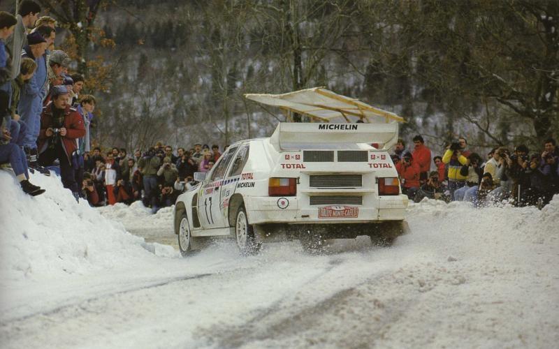 Rallye de Mónaco. Philippe Wambergue. Origen desconocido.