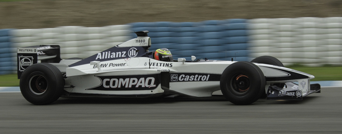 Williams-BMW FW22, Ralf Schumacher en los test en el Circuito de Jerez, Foto: BMW AG