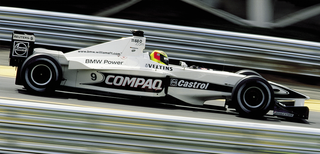 Ralf Schumacher en el Gran Premio de Brasil, Foto: BMW AG