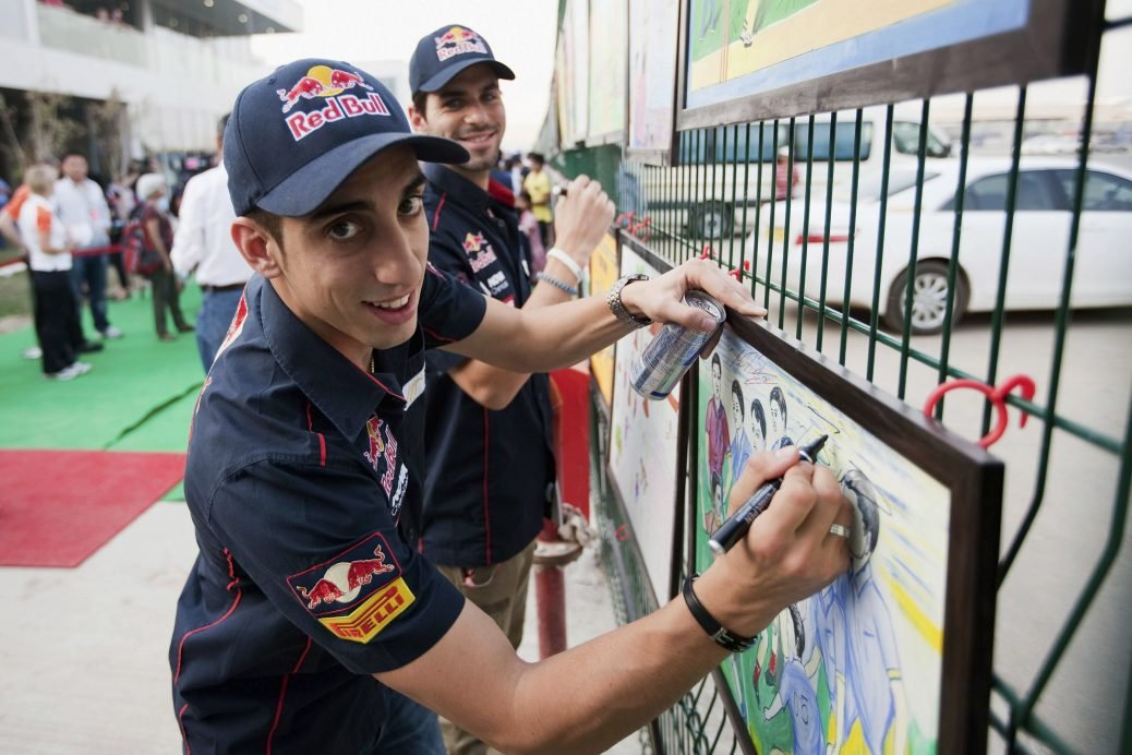 Buemi y Alguersuari. Foto: Getty Images / Red Bull Content Pool