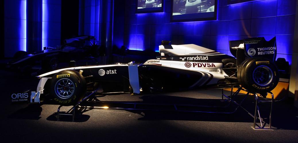 Williams-Cosworth FW33. Foto: Williams/LAT