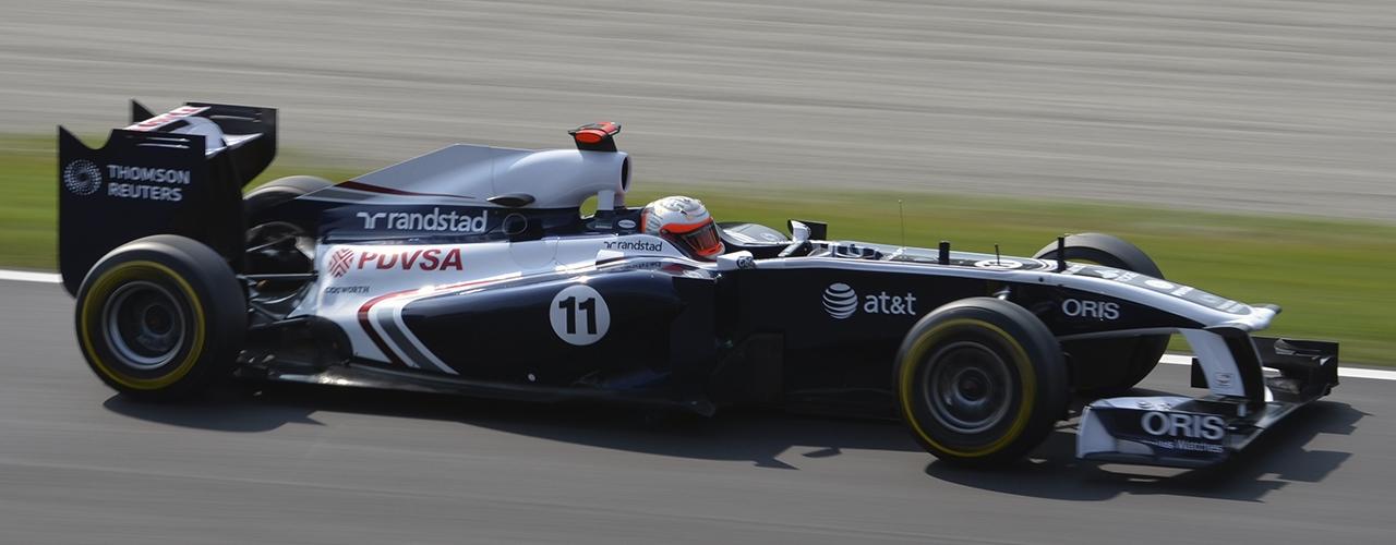 Williams-Cosworth FW33, Foto: Nic Redhead, Creative Commons 3.0