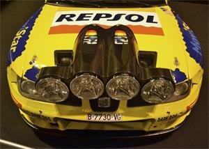 Foto: Aquí y en la foto de portada, tenemos el coche con el que Gardemeister se estrenó en Nueva Zelanda (Segunda foto) evolucionado a Evo II - Aaron Castellano - Madrid Motor Days, Diciembre de 2013