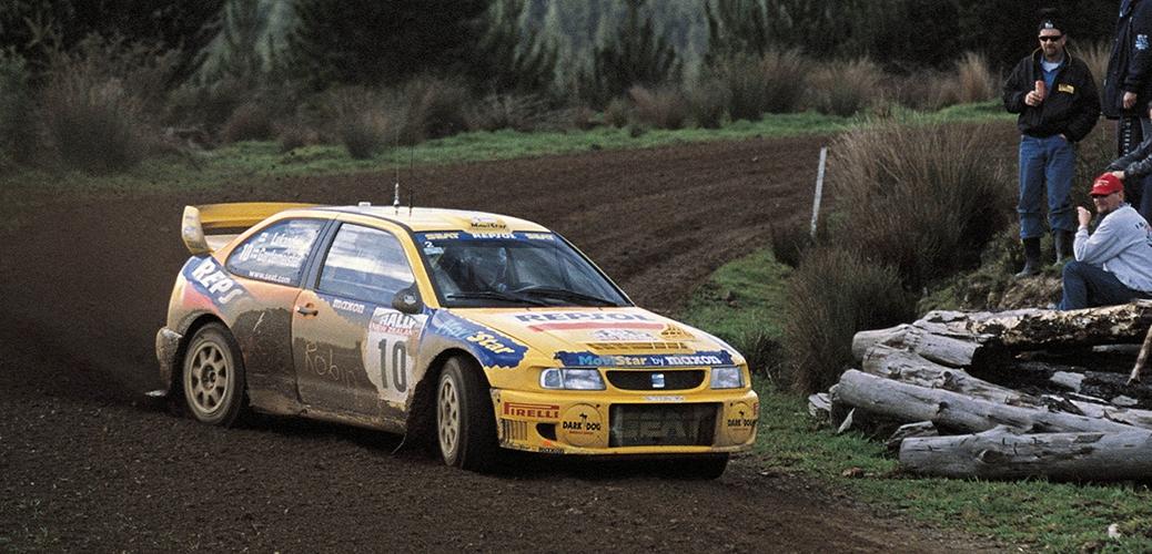 SEAT Cordoba WRC Evo 1, Rally Nueva Zelanda, Foto: Repsol