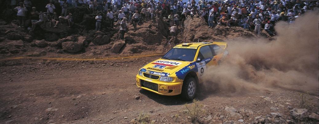 SEAT Cordoba WRC Evo 1, Rally Acrópolis, Foto: Repsol