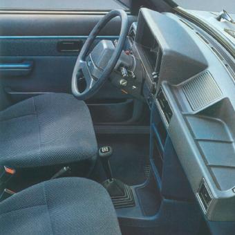 Interior. Ford orion Mk1. Catálogo de la época.